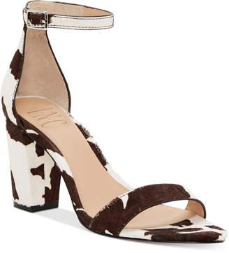 INC International Concepts Inc Women Kivah Two-Piece Sandals, Women Shoes