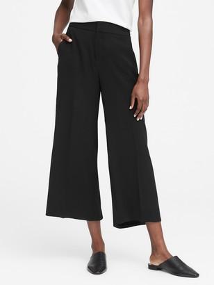 Banana Republic High-Rise Wide-Leg Cropped Pant