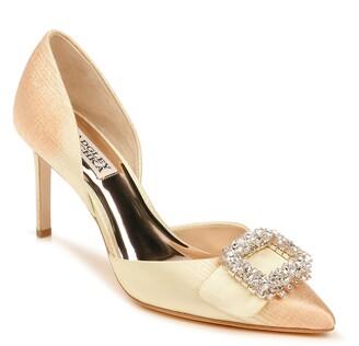 Badgley Mischka Gaiana Crystal Embellished Pointed Toe d'Orsay Pump