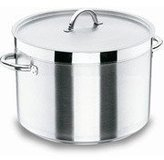 Lacor 54131s Low Stock Pot Without Lid D.32 Cm Ch-Lux
