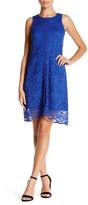 Donna Ricco Lace Shift Dress (Petite)