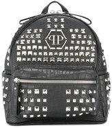 Philipp Plein studded backpack - kids - Polyurethane - One Size