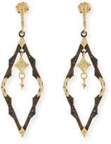 Armenta Old World Dangling Crivelli Earrings with Diamonds
