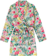 Cath Kidston Tropical Garden Short Dressing Gown