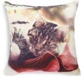 Marks and Spencer Christmas Cat Print Cushion