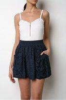 Silk Jacquard Skirt
