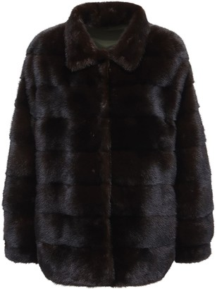 Simonetta Ravizza Reversible Jacket W/ Fur