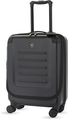 Victorinox Black Spectra 2.0 Expandable Cabin Suitcase, Size: 55cm