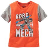 Osh Kosh Toddler Boy Short Sleeve Comic Book Graphic Tee