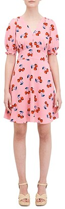 Kate Spade Cherry Dress (Rosy Carnation) Women's Dress