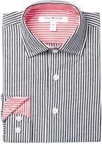 Isaac Mizrahi Long Sleeve Striped Shirt (Toddler, Little Boys, & Big Boys)