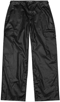 Our Legacy Black shell cargo trousers