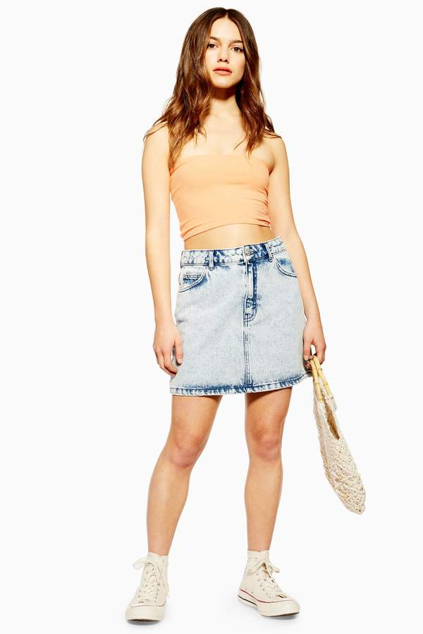 3151c2e542 Petite Denim Skirt - ShopStyle