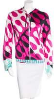 Emilio Pucci Hooded Track Jacket