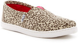 Toms Metallic Canvas Leopard Slip-On Shoe (Little Kid & Big Kid)