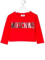Moschino Kids - logo top - kids - Cotton/Spandex/Elastane - 4 yrs