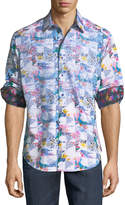 Robert Graham Classic-Fit Devonshire Abstract Sport Shirt