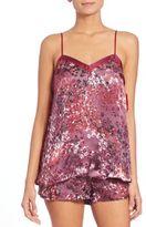Josie Natori Printed Camisole & Shorts
