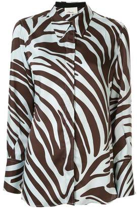 3.1 Phillip Lim zebra print shirt dress