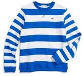 Lacoste Stripe Sweater (Big Boys)