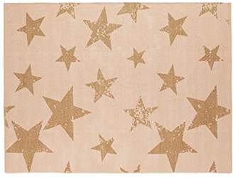 Lorena Canals Vintage Star Rug and Cushion (Salmon)