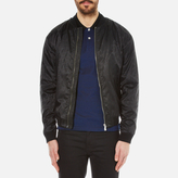Versus Versace All Over Lion Print Bomber Jacket Black
