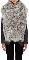 Barneys New York Women's Mongolian Fur Scarf