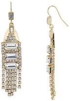 Aqua Hilaria Deco Drop Earring