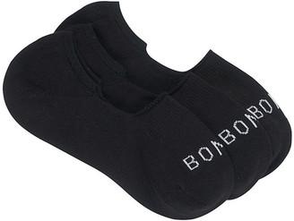 Bonds Best Basic Sneaker Sock 3 Pack LYCV3N Black 3-8
