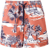 Etro printed swim shorts - men - Nylon - M