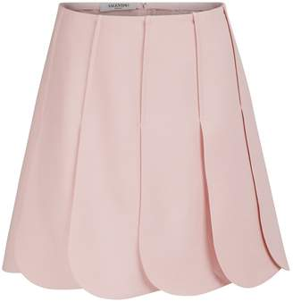 Valentino Pleated mini skirt