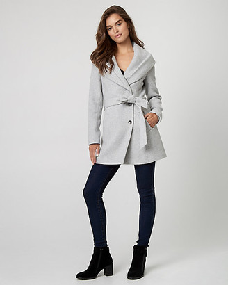 Le Château Wool Blend Belted Coat