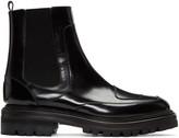 Yang Li Black Moto Chelsea Boots