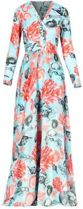 Cosel Long Dress Ocean World