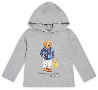 Ralph Lauren Kids Polo Bear Hoodie (2-4 Years)