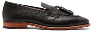 Grenson Jerome Tasselled Leather Loafers - Black