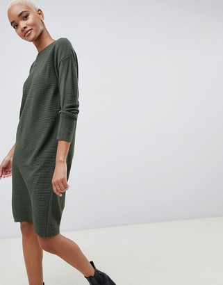 Asos Design ASOS Sweater Dress In Ripple Stitch