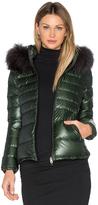 Duvetica Nefele Jacket with Asiatic Raccoon Fur