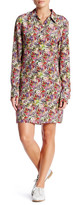Equipment Lucina Floral Silk Shirt Dress