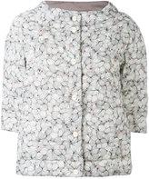 Herno printed puffer jacket - women - Feather Down/Polyamide/Polyurethane - 40