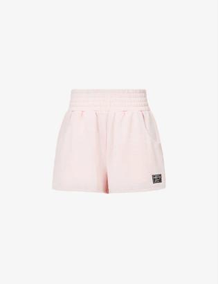 Lorna Jane Bliss mid-rise cotton-blend lounge shorts