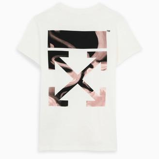 Off WhiteTM White Liquid Melt Arrows t-shirt