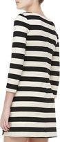 Theory Onitia Three Quarter-Sleeve Ponte Dress