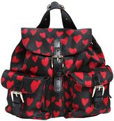 RED Valentino Hearts Print Nylon Mini Backpack