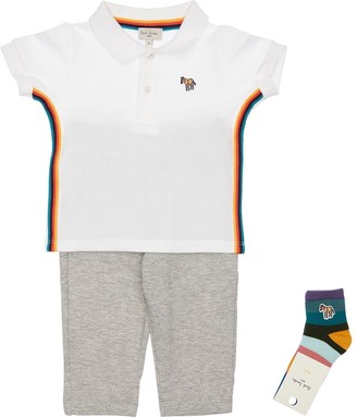 Paul Smith Cotton Piquet Polo, Sweatpants & Socks
