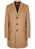 Hugo Mirgor Wool And Cashmere Blend Coat
