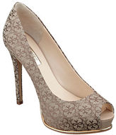 GUESS Honora Peep-Toe Pumps