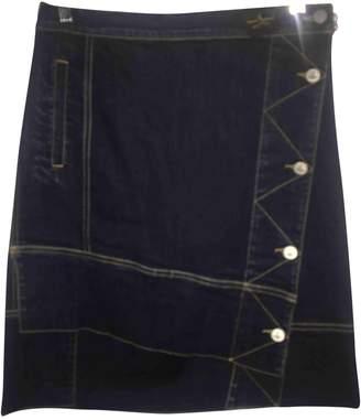 Vivienne Westwood Blue Denim - Jeans Skirt for Women