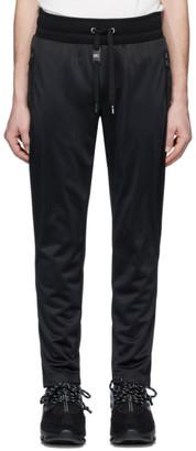 Dolce & Gabbana Black Jersey Track Pants