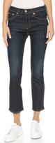 Rag & Bone 10 Inch Crop Straight Jeans